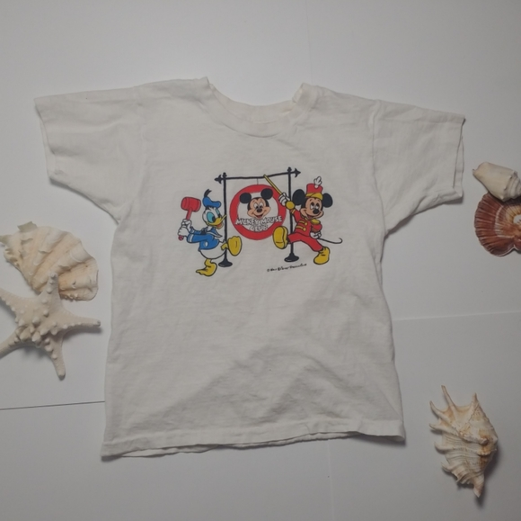 Rare Vintage 80's Micky Mouse Club tshirt